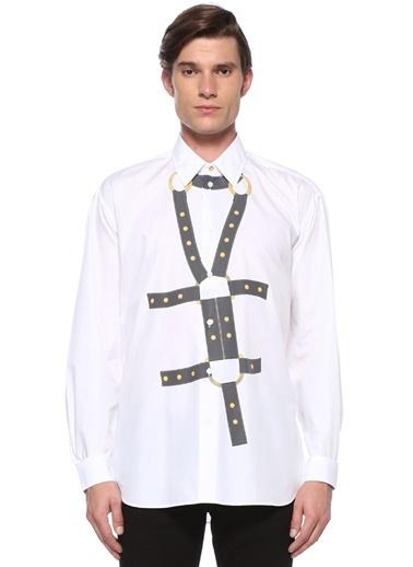 Versace Gömlek Beyaz